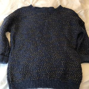 Boden Navy and gold sweater US size 4